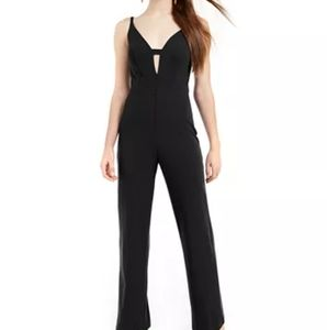 Black Strappy Jumpsuit Size Small